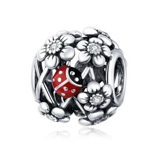 925 Sterling Silver Ladybug Charm